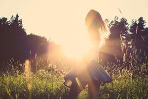 Girl-Sunlight