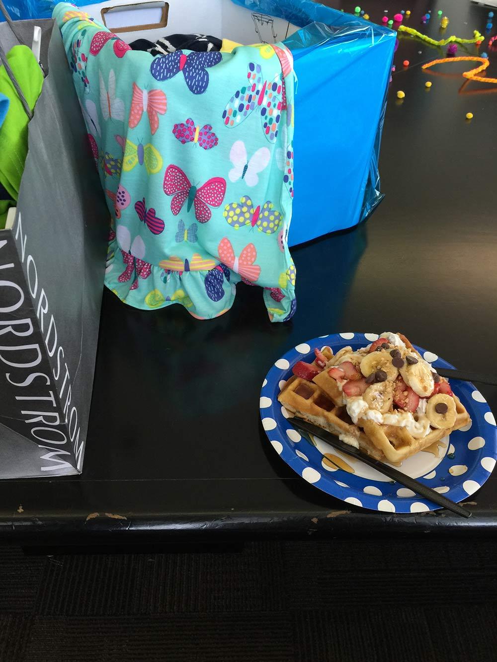 DIY french toast bar fundraiser