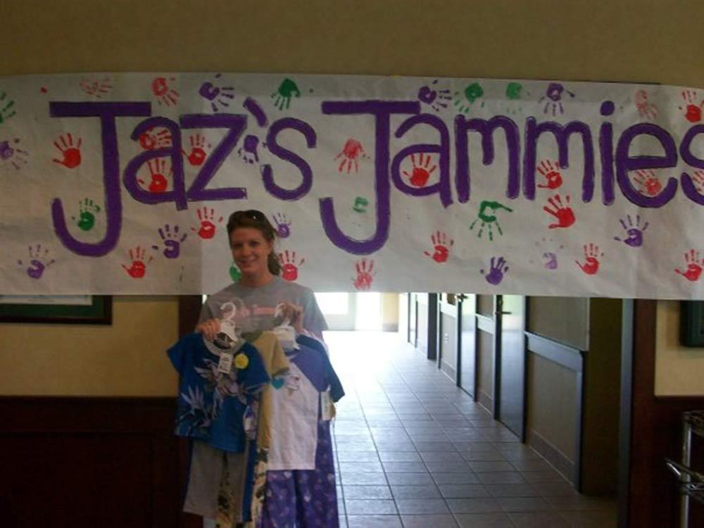 pajama charity donations college